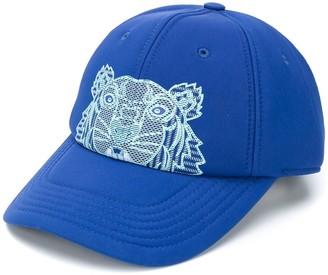 Kenzo Tiger-print baseball cap