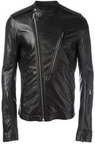Rick Owens Cyclop biker jacket - men - Cotton/Sheep Skin/Shearling/Cupro - 48
