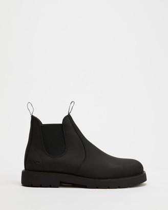 ROC Boots Australia - Women's Black Chelsea Boots - Jumbuk II Leather Ankle Boots - Size 36 at The Iconic