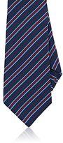Kiton Men's Striped Silk Necktie