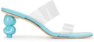 Cult Gaia Suri transparent strap sandals