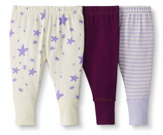 Hanna Andersson Moon And Back By Moon and Back by Baby/Toddler 3-Pack Organic Cotton Jogger