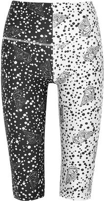 H2OFAGERHOLT Monchrome Printed Cropped Leggings