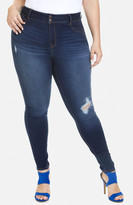 Fashion to Figure High Waist Double Button Jeans