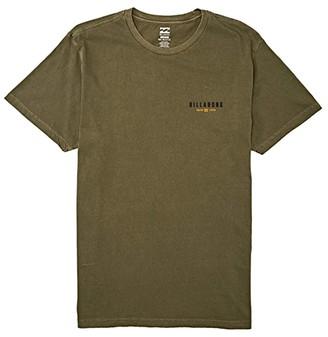 Billabong General Short Sleeve Tee (Olive) Men's Clothing