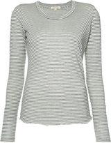 Nili Lotan striped T-shirt - women - Cotton - L