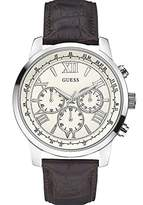 GUESS Men's Quartz Watch W0380G2 with Leather Strap
