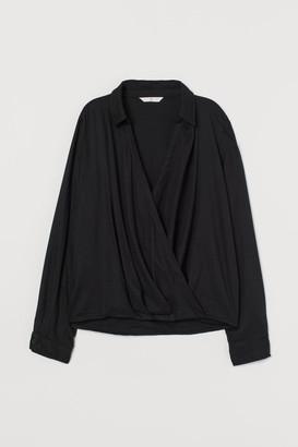 H&M Wrapover blouse