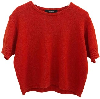 Isabel Marant Red Cashmere Tops