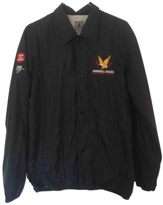 Champion Black Synthetic Jackets