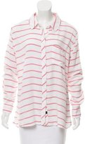Rails Striped Button Up Top