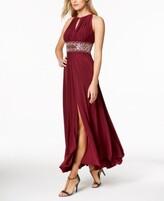 Thumbnail for your product : R & M Richards Beaded Gown