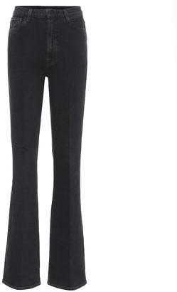 J Brand 1219 Runway high-rise boot-cut jeans