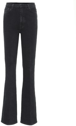J Brand 1219 Runway high-rise boot-cut jeans