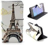 Sankuwen 1pc Samsung Wallet Case, PU Leather Flip Case for Samsung Galaxy Grand Prime G530H G5308 (Tower)