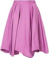 Mikio Sakabe draped A-line skirt