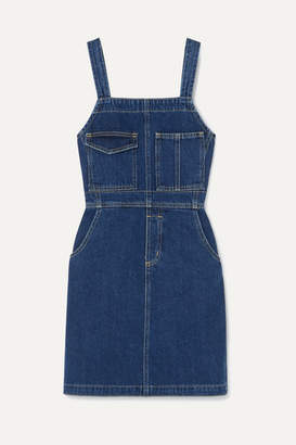 Eve Denim Michelle Denim Mini Dress - Mid denim