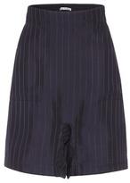Acne Studios Sachi twill jacquard shorts
