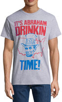 NOVELTY PROMOTIONAL Abraham Drinkin Time SS Tee