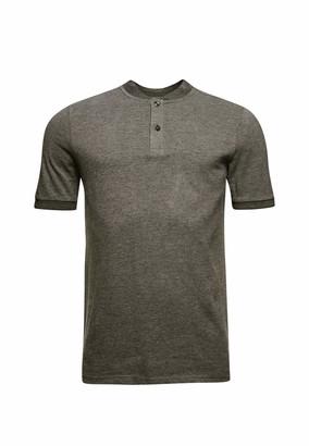 Superdry Men's Grandad Collar Pique Polo Shirt