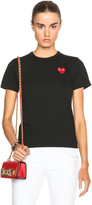 Comme des Garcons Jersey Red Emblem Tee
