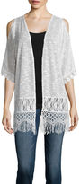 Almost Famous Short Sleeve Cardigan Juniors