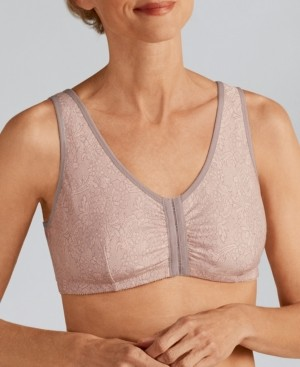 Amoena Frances Wire-Free Front Closure Post-Surgery Bra