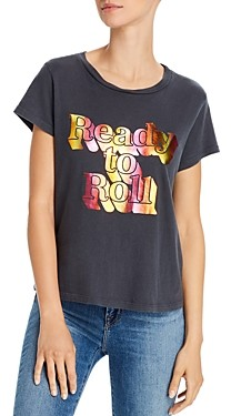 Mother The Boxy Goodie Goodie Foil Graphic Tee
