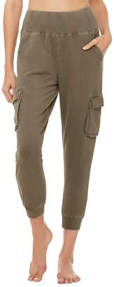Alo Yoga High-Waist French Terry Cargo Sweatpants