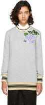Dolce & Gabbana Grey Floral Sweatshirt