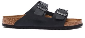 Birkenstock Arizona Oiled-leather Sandals - Black