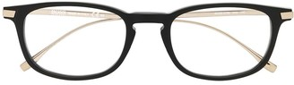 HUGO BOSS Polished Square-Frame Glasses