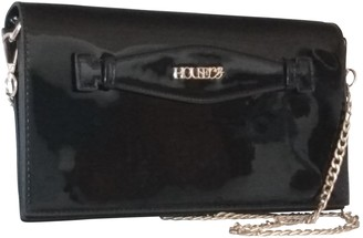 House Of CB Black Patent leather Handbags
