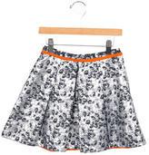 Preen Girls' Metallic Patterned Skirt w/ Tags