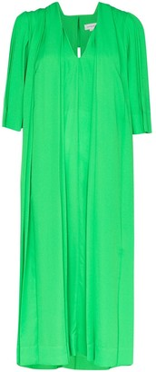 Victoria Beckham Georgette midi dress