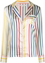 Chinti and Parker silk striped pyjama set