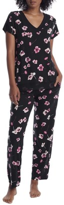 Donna Karan Floral Modal Pajama Set
