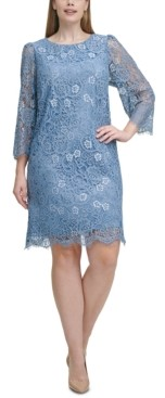 Jessica Howard Plus Size Lace Dress