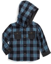 Tucker + Tate Infant Boy's Double Cloth Button Hoodie