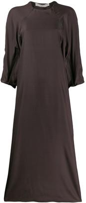 Cherevichkiotvichki Silk Zipped Dress