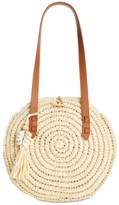 INC International Concepts Inc Melania Circle Straw Tote, Created for Macy's