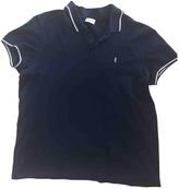 Saint Laurent Blue Cotton Polo shirt