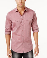 INC International Concepts Men's Roll Tab Shirt, Only at Macy's