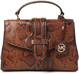 MICHAEL Michael Kors Snake-effect Leather Tote