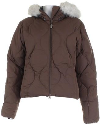 Yves Salomon Brown Coat for Women