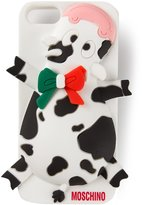 Moschino cow iPhone 5c cover - women - Polyamide - One Size
