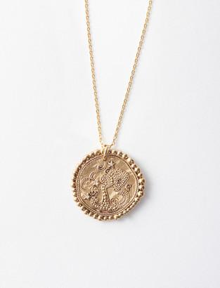 Maje Aquarian zodiac sign necklace