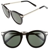 Karen Walker Women's 'Harvest' 50Mm Retro Sunglasses - Black