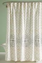 Anthropologie Liron Tufted Shower Curtain