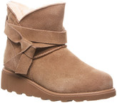 BearPaw Cold Weather Boots HICKORY - Hickory II Maxine Slip-On Ankle Boot - Kids